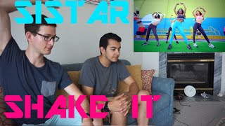SISTAR - SHAKE IT MV Reaction