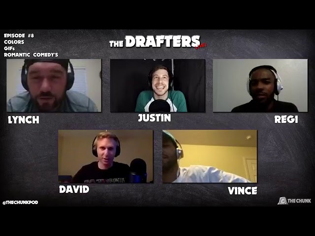The Drafters Live! #8: Colors, GIFs, Romantic Comedys (RomComs)