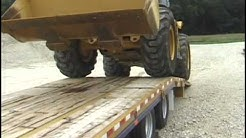 Trailering and hauling construction equipment