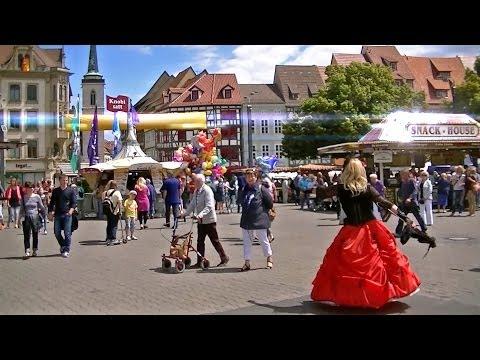 Mr. Freedom's Adventures - Day 316 - Erfurt, Germany