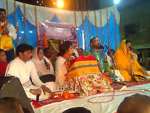New live bhajan poonam didi in gopaldham hathras