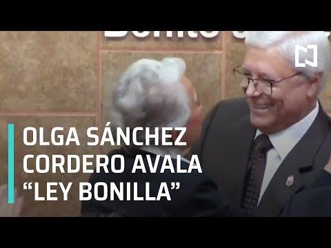 """Olga Sánchez Cordero Cambia Visión Sobre """"Ley Bonilla"""" - En Punto"""
