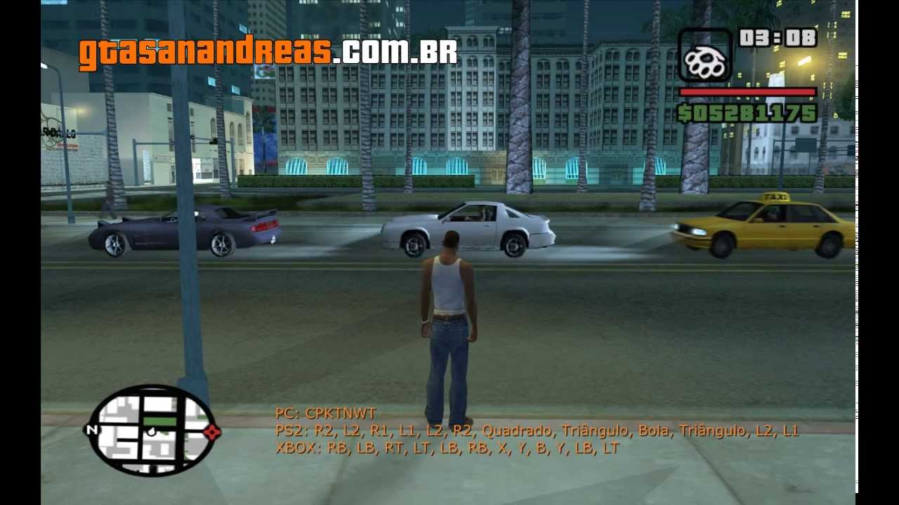 Cdigo Para Explodir Todos Os Carro No GTA San Andreas YouTube