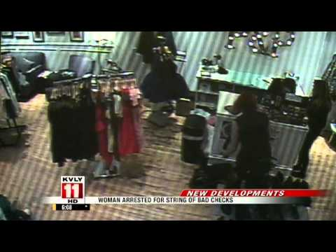 Fargo woman accused of passing bad checks gets arrested trying to pawn jewelry