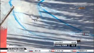 Lindsey Vonn - Second Place - Lake Louise Super G