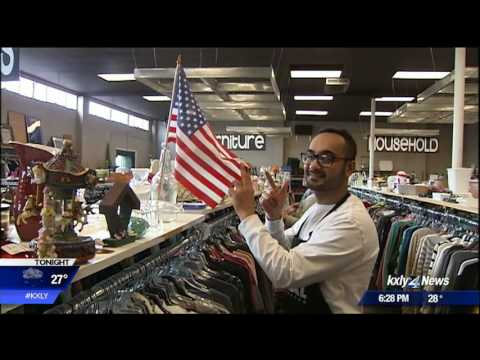 Local thift store hires refugees, immigration ban has them worried