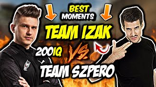 TEAM IZAK VS TEAM SZPERO W PGS-ie!!! IZAK KASUJE Z DEAGLA, SZPERO AWP GOD, CLUTCH 200 IQ