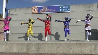2015年3月8日に開催されたニンニンジャーのキャラクターショーです。