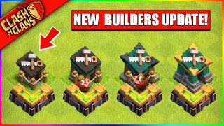 ...UPGRADE YOUR BUILDER HUTS IN CLASH OF CLANS!! (BATTLE BUILDER UPDATE)