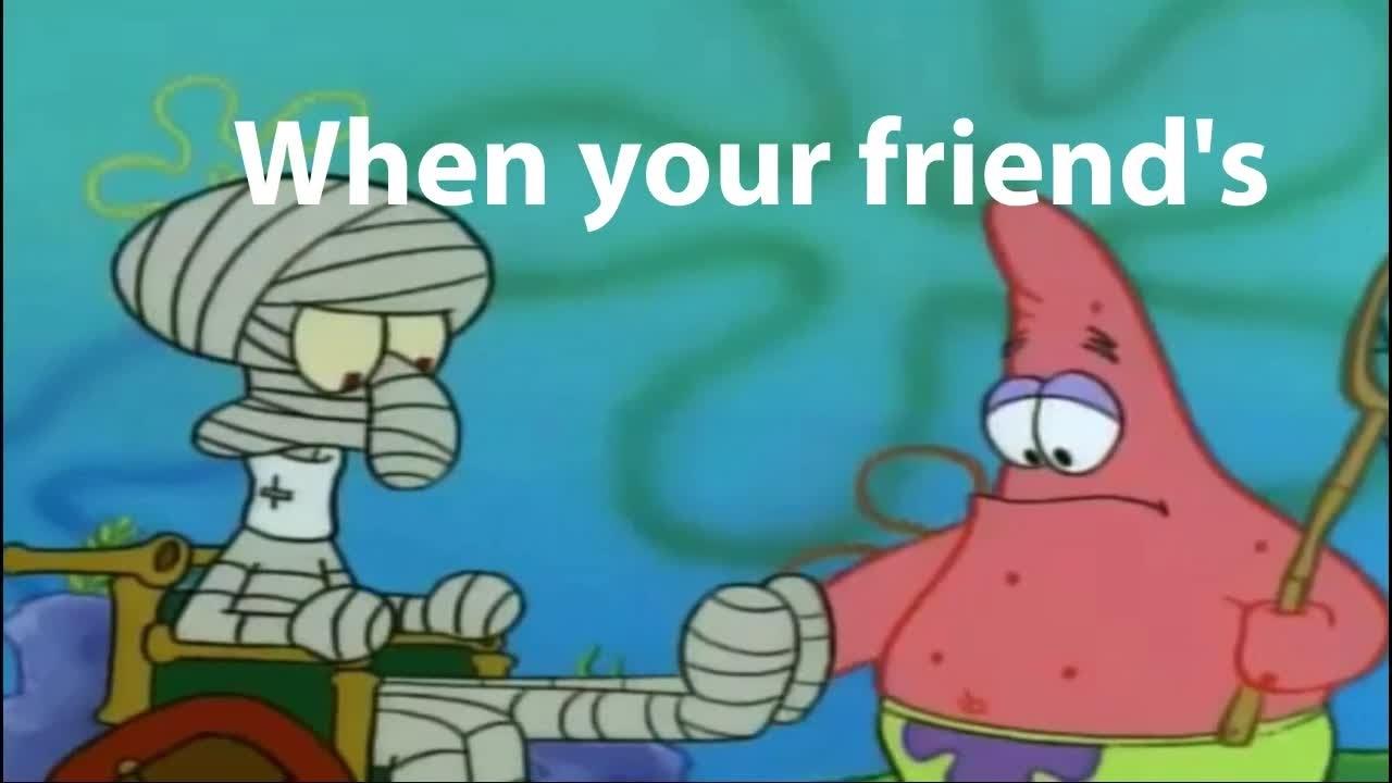 Spongebob google ad meme