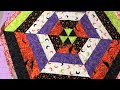 Sew with me - Quilted Hexagon Table Topper or Wall Hanging