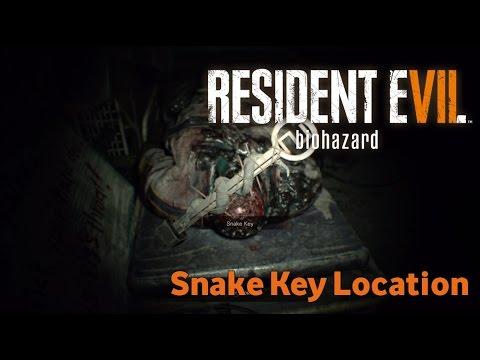 Resident Evil 7 Biohazard - Snake Key Location