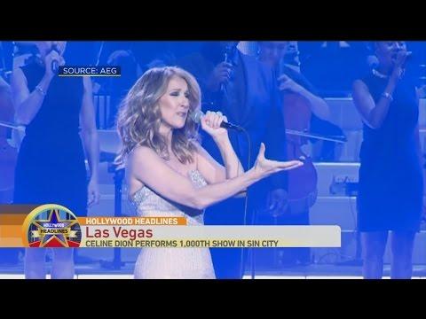 Hollywood Headlines: Celine Dion in Vegas