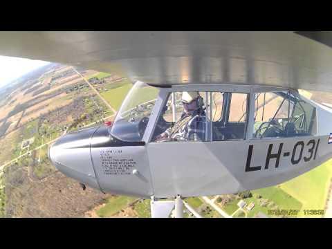 Aeronca L 16 Flight