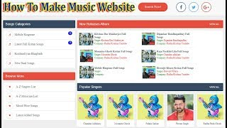how-to-make-music-download-website-skyitech-script-new-design-script-download-online-tuition
