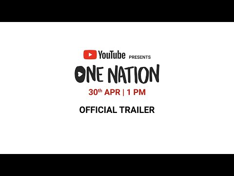 youtube-presents-one-nation-|-official-trailer-|-30th-april,-2020-|-#onenationathome
