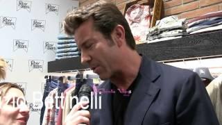 Paolo Conticini - intervista al Roy Rogers store 26 3 2014