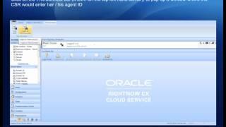 Oracle RightNow CTI Integration