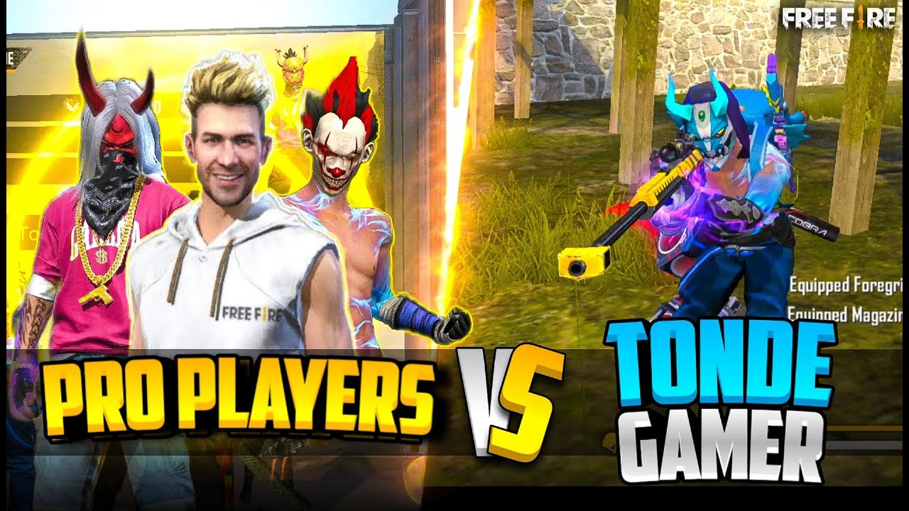 Pro Players vs Tonde Gamer Weird Name Change Challenge with Ungraduate Gamer - Garena Free Fire
