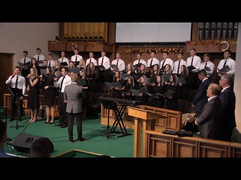 10/13/2019 -  Воскресное Богослужение - Гости (хор) из г. Биллингхейм