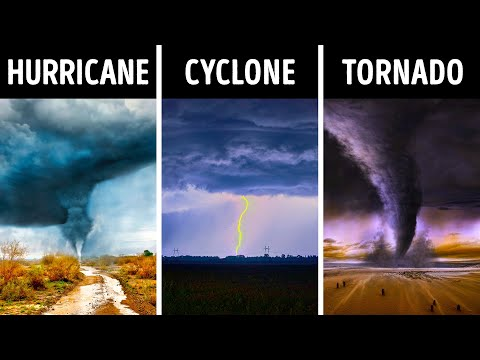 Hurricane, Tornado, Cyclone – What's The Difference?