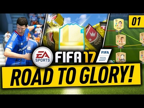 FIFA 17 ROAD TO GLORY #1 - HOW TO START FIFA 17 ULTIMATE TEAM!