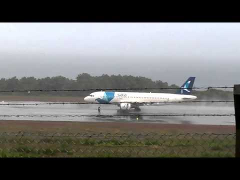 SATA A320 CS-TKJ hard landing at Pico Island Nov 16th 2015