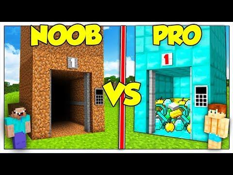 ASCENSORE NOOB CONTRO ASCENSORE PRO! - Minecraft ITA