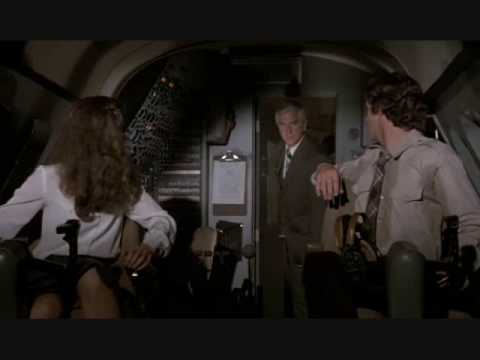 I just want to tell you both good luck. We're all counting on you. - Airplane