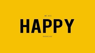 "Pharrell Williams ""Happy"" - We are HAPPY in BACAU, Romania"