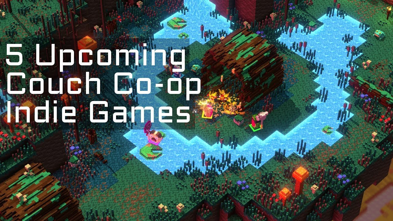 Top 5 Upcoming Couch Co Op Online Co Op Indie Games In