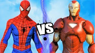 THE AMAZING SPIDER-MAN Vs IRON MAN - Epic Battle