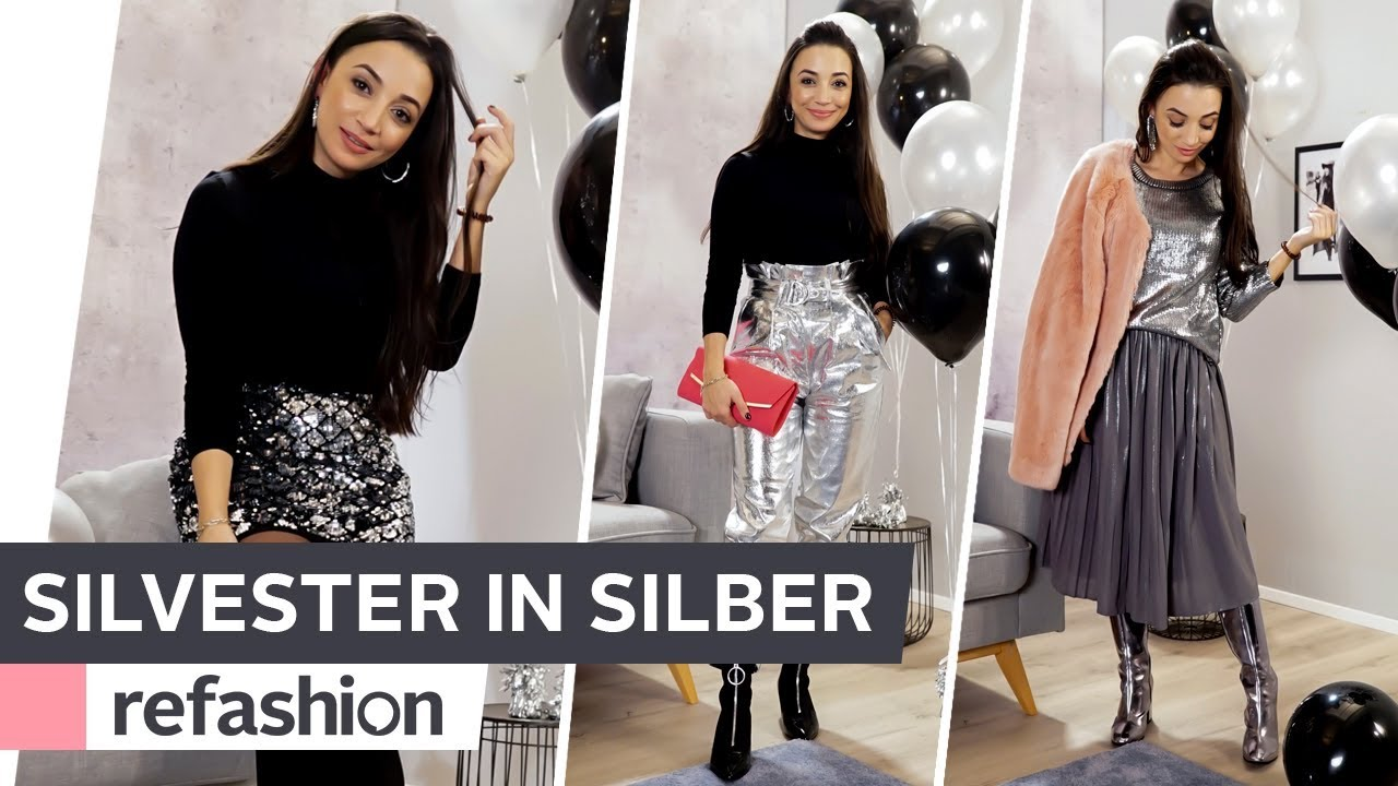 HOW TO STYLE: Silvester in Silber ~ refashion   OTTO