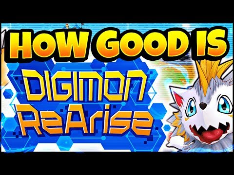 DIGIMON REARISE REVIEW: First Impressions, release date, gameplay