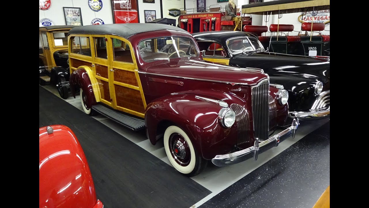 1941 Packard One Ten 110 Deluxe Woody Station Wagon On My Car Story Oldsmobile With Lou Costabile