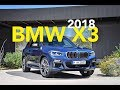 2018 BMW X3 Debuts with Updated Style and Engine Lineup