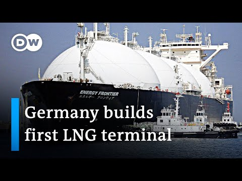 Germany begins constructing its first liquified natural gas (LNG) terminal | DW News