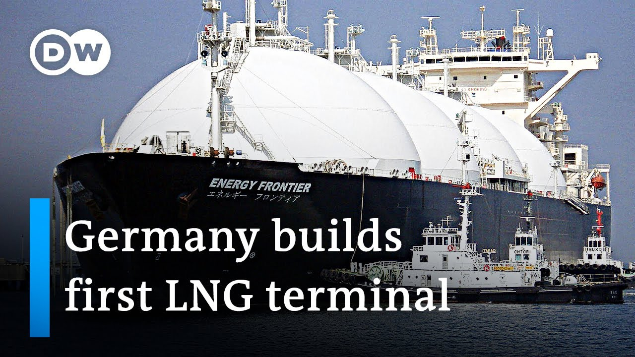 Download Germany begins constructing its first liquified natural gas (LNG) terminal   DW News