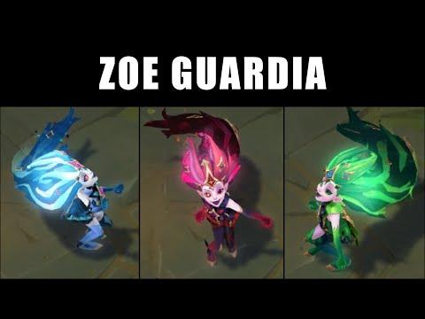Zoe Guardia Estelar - Croma Skin