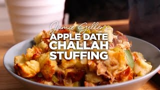 Apple Date Challah Stuffing