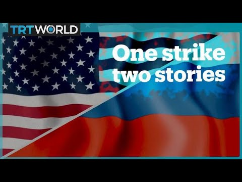 American vs Russian media coverage of the US-led strikes in Syria
