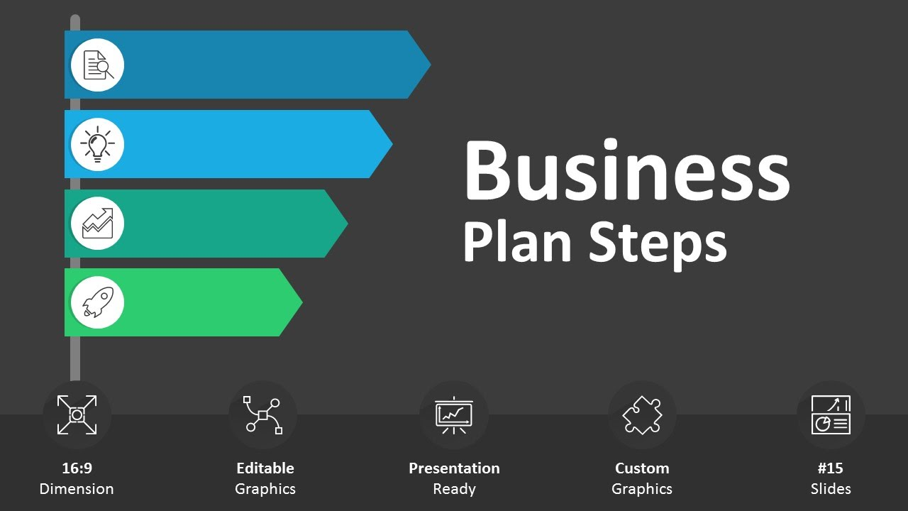 Business Plan Steps Editable PowerPoint  YouTube
