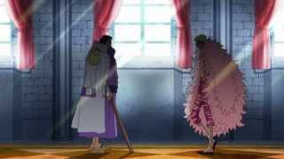 Doflamingo Vs Fujitora [Full Fight] - One Piece [HD]