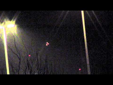 НЛО над Питером 09.04.12 над Ленобластью  на Севере!