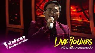 Hanya Rindu (Andmesh) - Genya | LIVE Rounds | The Voice Indonesia GTV 2019