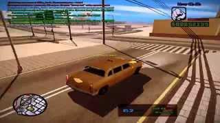 Обучение по игре gta san andreas multiplayer (таксист)