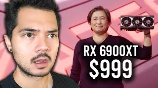 My live reaction to AMD announcing the RX 6900XT, 6800XT & 6800