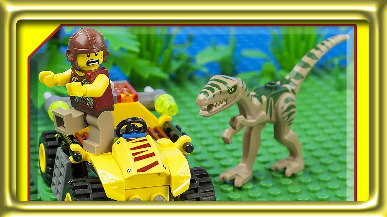 Lego Dino Ambush Attack 5882 Build Review Youtube