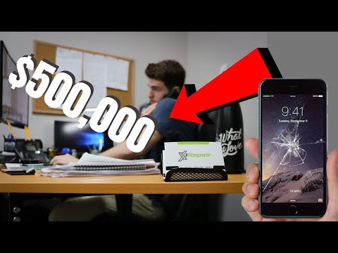 How I built a $500,000 Cell Phone Repair Company