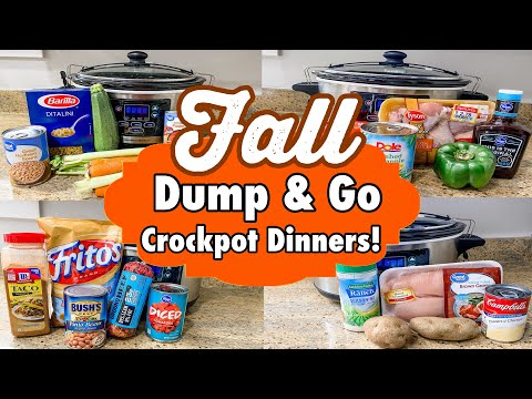 6 Cheap & Fancy Crockpot Dinners | The EASIEST Dump N' Go Tasty Slow Cooker Recipes | Julia Pacheco